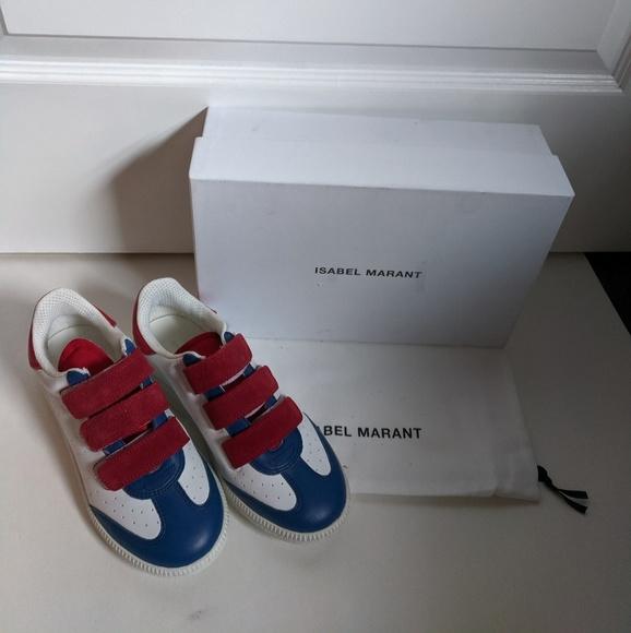 0b20320f296 Isabel Marant Shoes   New Beth Sneaker Velcro Straps 37   Poshmark